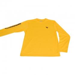 Блуза Humminbird Long Sleeve Performance Tee-Gold